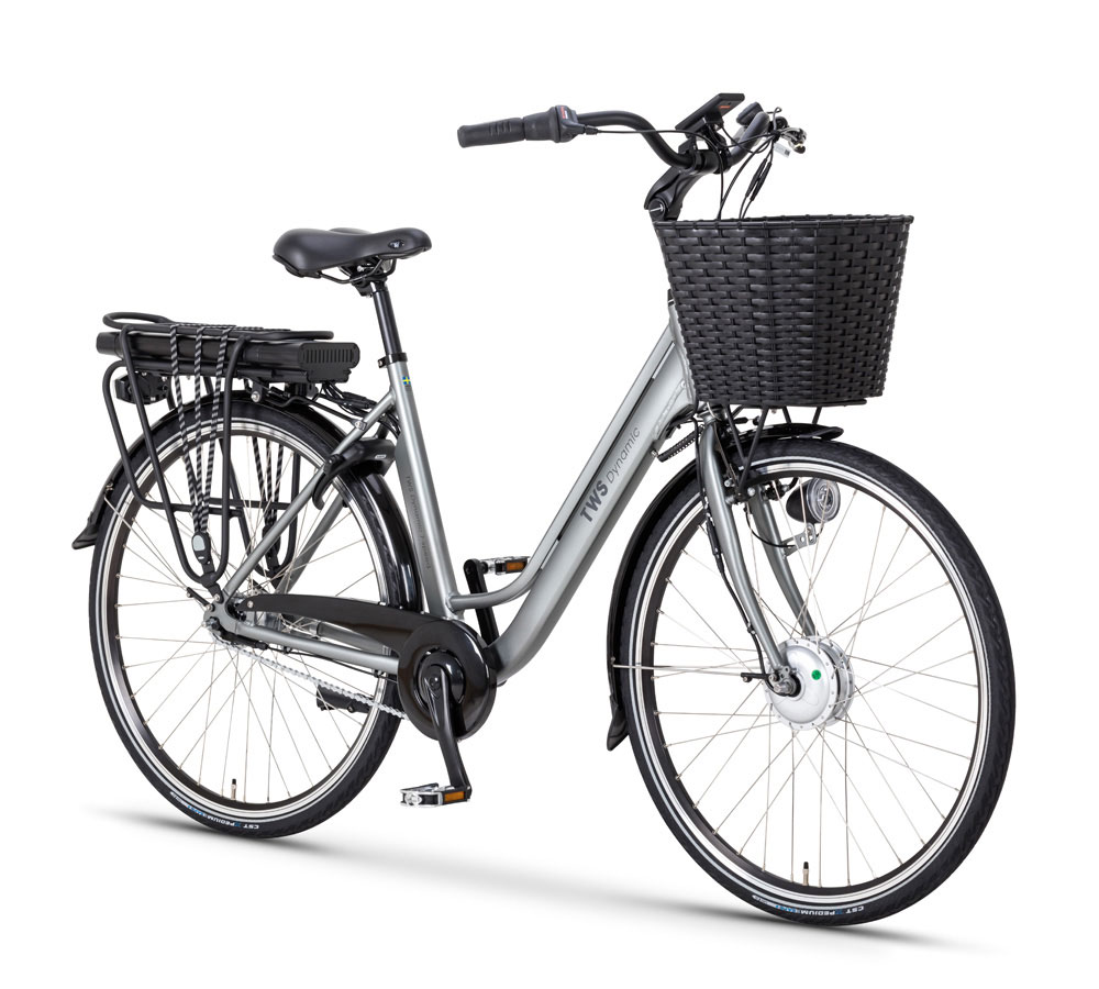 Elcykel TWS Dynamic 7-Speed Granitgrå